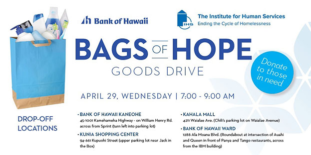 bags of hope by The institute for human services