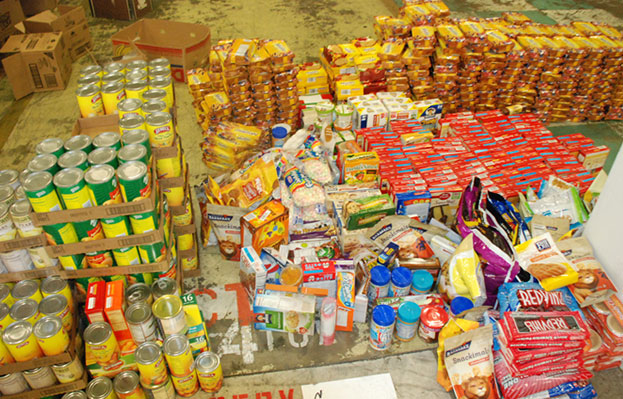 holidays food drive by The institute for human services