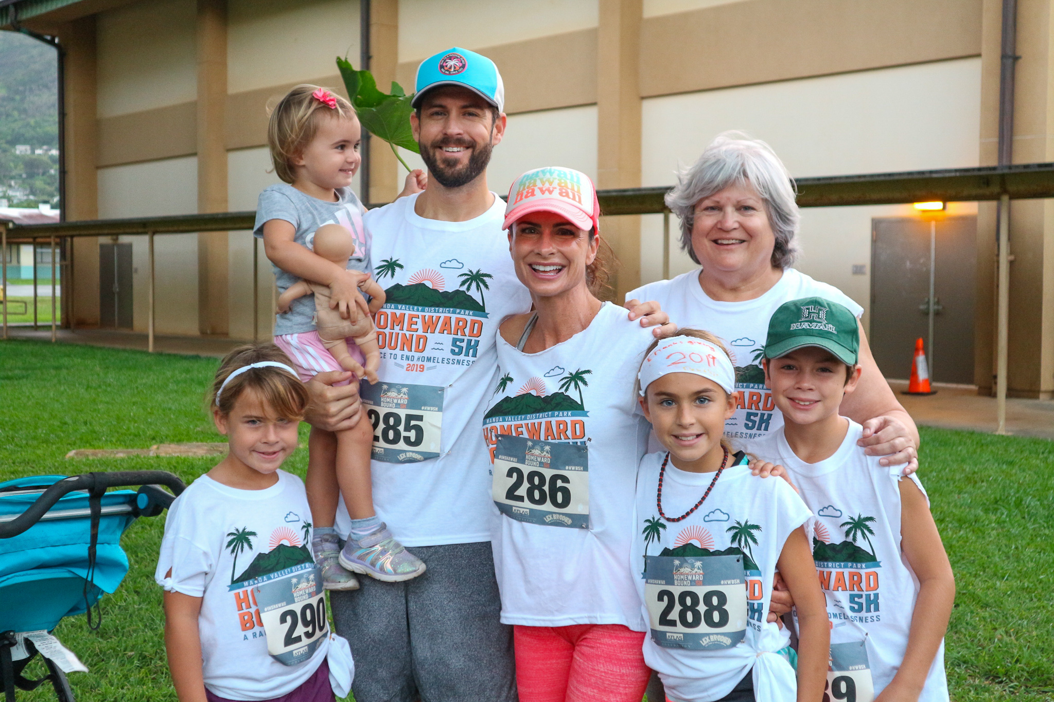 Homeward Bound 5K is perfect for all ages. From keiki (children) to kupuna (seniors), everyone can run, walk to jog at their own pace and help end homelessness in Hawaii.